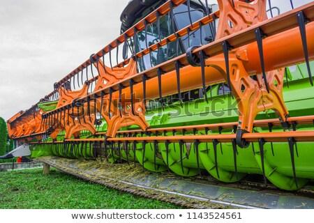 Tarım makine alan teknoloji Metal Stok fotoğraf © mycola