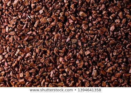 áspero · espécime · preto · carvão · vermelho - foto stock © taigi