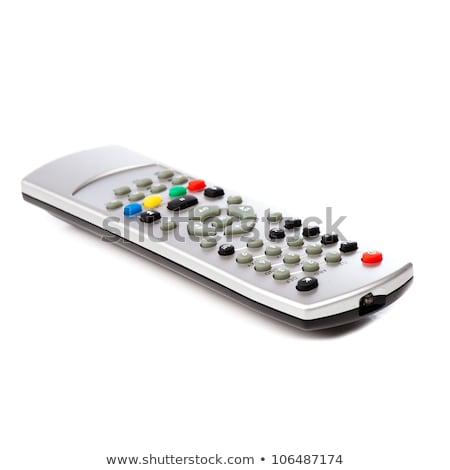 receiver remote control isolated and hand stock photo © frameangel
