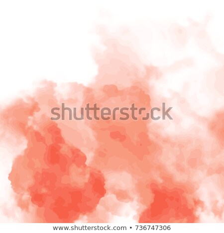 vector red watercolor floating spot stock photo © alexmakarova