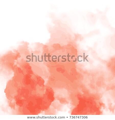 rosa · acquerello · macchia · effetto · acqua · texture - foto d'archivio © alexmakarova