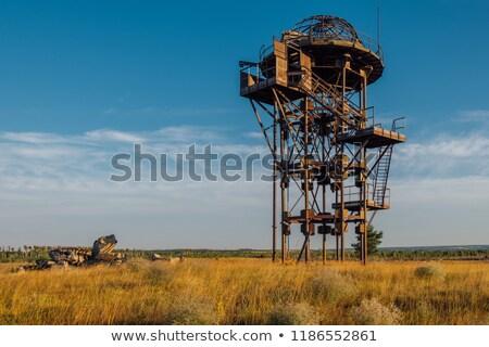 Regarder tour concentration camp Photo stock © tarczas