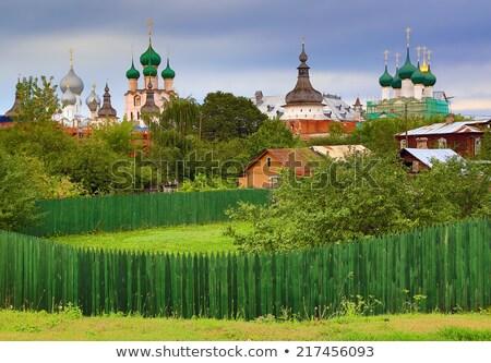 известный · русский · православный · Церкви · дома - Сток-фото © mikko