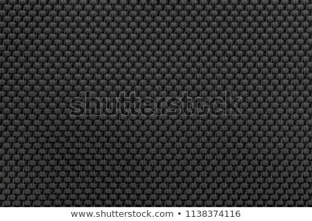 Katoen weefsel macro textuur patroon Stockfoto © stevanovicigor