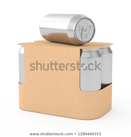 ボックス · ブラウン · 段ボール · オフィス · ショップ · バランス - ストックフォト © grafvision