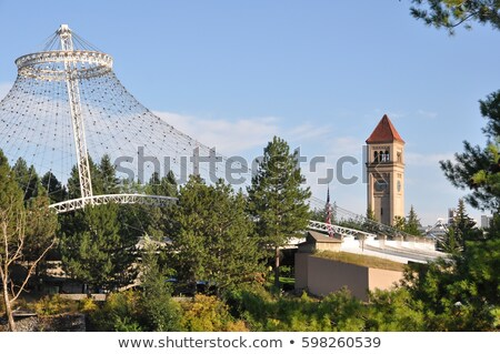 historic architecture in spokane wa Stock photo © alex_grichenko