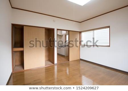 woonkamer · vacant · huis · onlangs · bouwen - stockfoto © jfjacobsz