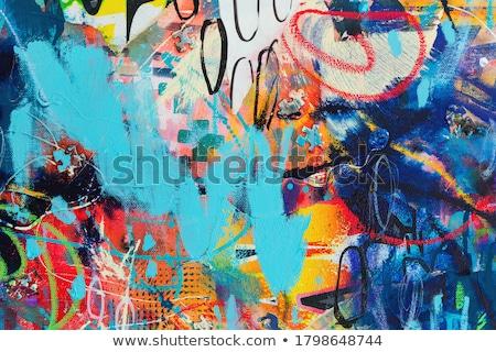 Original dibujado a mano resumen vector eps10 ilustración Foto stock © oliopi