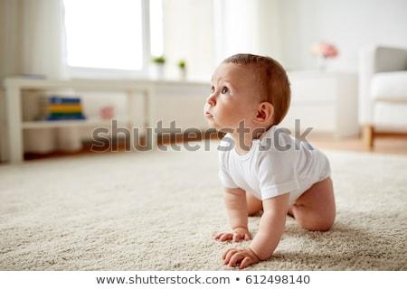 赤ちゃん · おむつ · 白 · 階 - ストックフォト © unkreatives