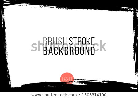 Abstract background is black blotches and stripes at center Stock photo © cherezoff
