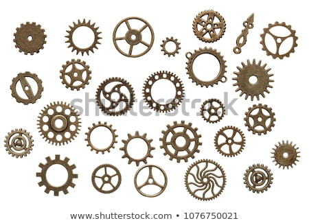 Grunge elements - Cogs and wheels Stock photo © PokerMan