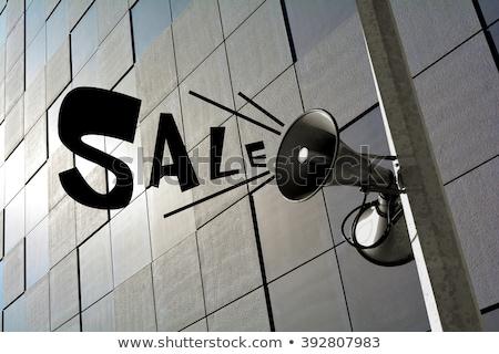 Shop Sale Means Commercial Activity And Bargain Stock photo © stuartmiles