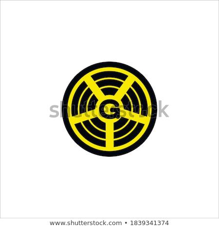 3g assinar amarelo vetor ícone projeto Foto stock © rizwanali3d