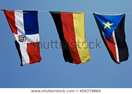 Germany and Dominican Republic Flags Stock photo © Istanbul2009