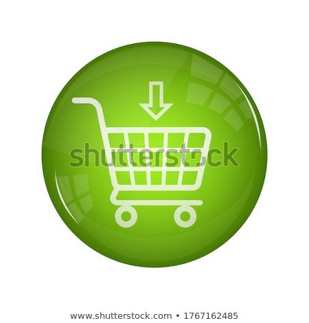 Add To Cart Violet Vector Icon Design Stock photo © rizwanali3d