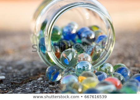 colorful glass marbles Stock photo © jirkaejc
