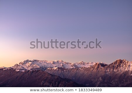 sunset between the rocks stock photo © wildnerdpix