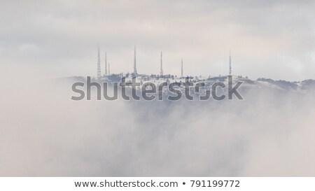 Antenna modern kék ég televízió telefon rádió Stock fotó © keko64