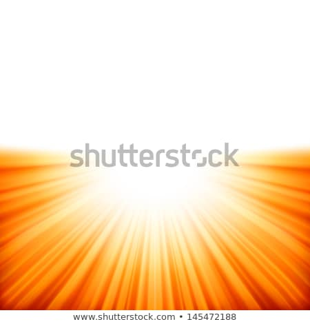 sunburst rays of sunlight tenplate eps 10 stock photo © beholdereye