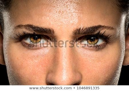 Eyes of women showing diversity  Stock photo © shawlinmohd