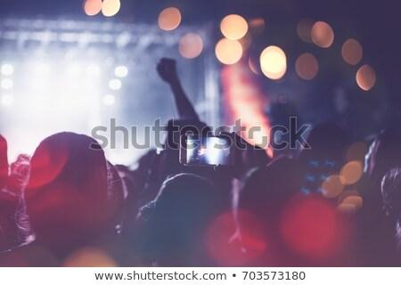 女性 写真 ライブ ステージ パフォーマンス ストックフォト © stevanovicigor