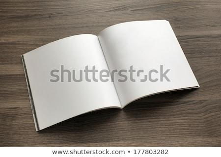 Empty page on table Stock photo © fuzzbones0