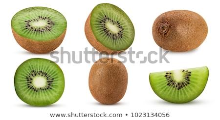 Kiwi fruto verde caminho branco Foto stock © mady70