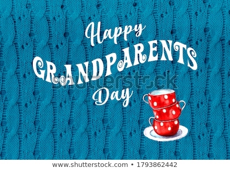 happy grandparents day Stock photo © adrenalina