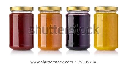 jar of apricot jam stock photo © digifoodstock