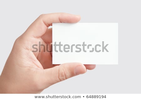 blank business cards with space for your text stock photo © karandaev