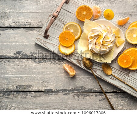 orange tart Stock photo © M-studio