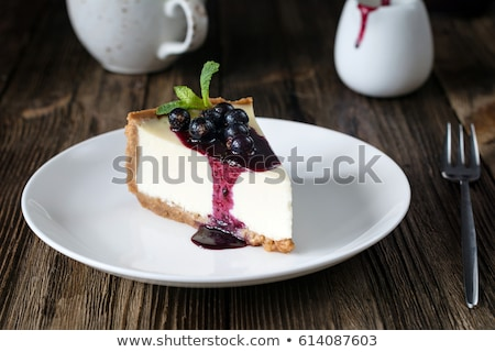 Blueberry cheesecake Stock photo © Karaidel
