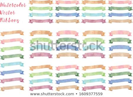 Pastel establecer gradiente boda Foto stock © barbaliss
