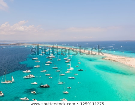 морем · яхта · синий · греческий · лет - Сток-фото © vilevi