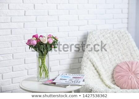 flores · florecer · colección · flor · plantas - foto stock © glorcza