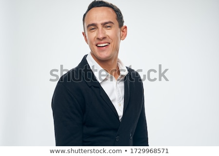 sick and unhappy businessman isolated on white background stock photo © elnur