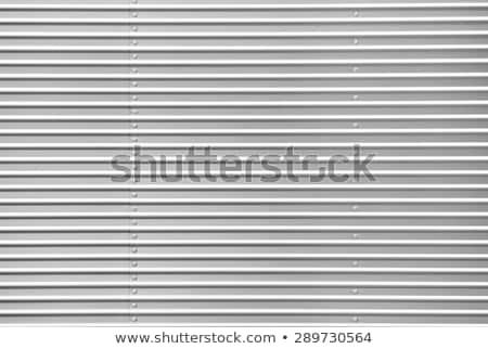 Ze stali nierdzewnej srebrny metal tekstury Zdjęcia stock © lunamarina