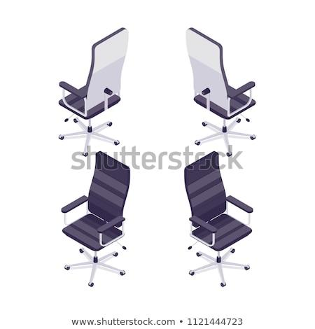 azul · vetor · ícone · ginecologia · cadeira · círculo - foto stock © robuart