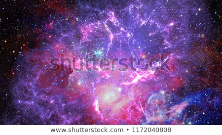 Nebula and open cluster in the universe. Element of this image f Stock photo © NASA_images