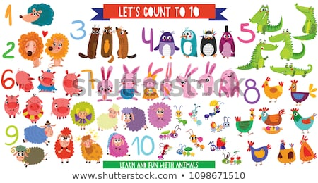 Let's count number to ten Stock photo © bluering