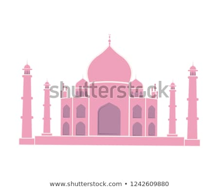 illustration · isolé · Taj · Mahal · Inde · résumé · art - photo stock © robuart