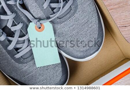 sapato · preço · ícone - foto stock © robuart