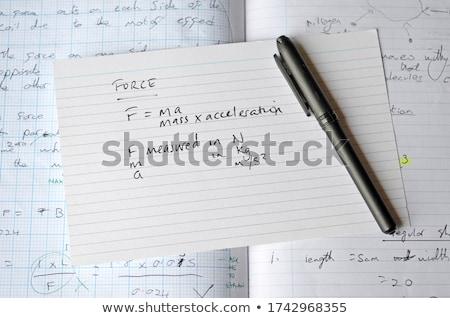 flash card closeup  Stock photo © OleksandrO