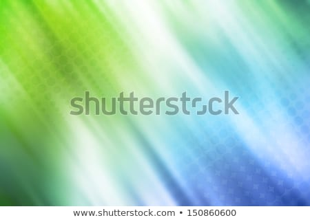 Resumen azul verde blanco medios tonos patrón Foto stock © SArts
