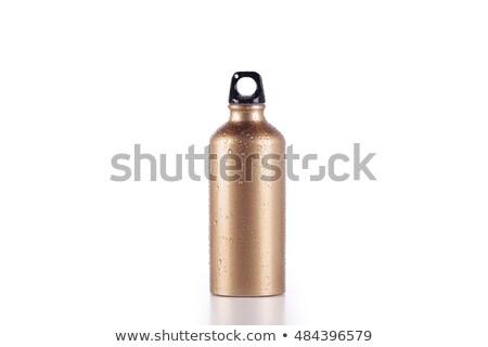 銀 金 水 ボトル 白 スポーツ ストックフォト © magraphics