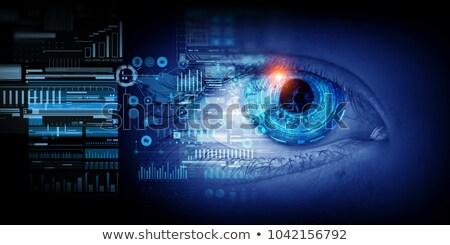 веб интерфейс смешанный СМИ технологий Сток-фото © alexaldo