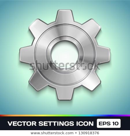 onderhoud · werk · metaal · versnellingen · mechanisme · industriële - stockfoto © tashatuvango