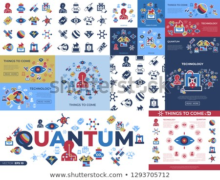 digital vector quantum things to come technology stock photo © frimufilms