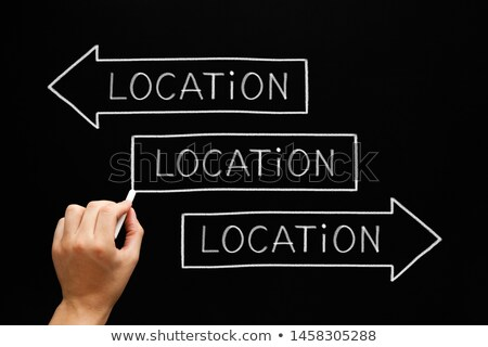 Location Importance Real Estate Arrows Concept Stock photo © ivelin