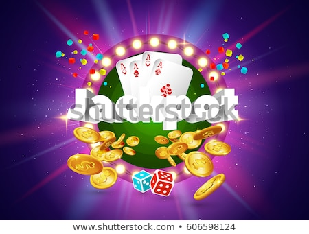 Win Money in Roulette, Business Success Vector Stock photo © robuart